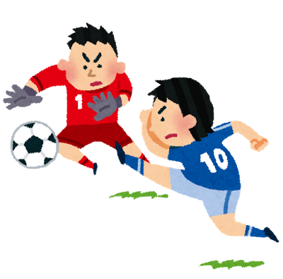 サッカーシュート・キーパー